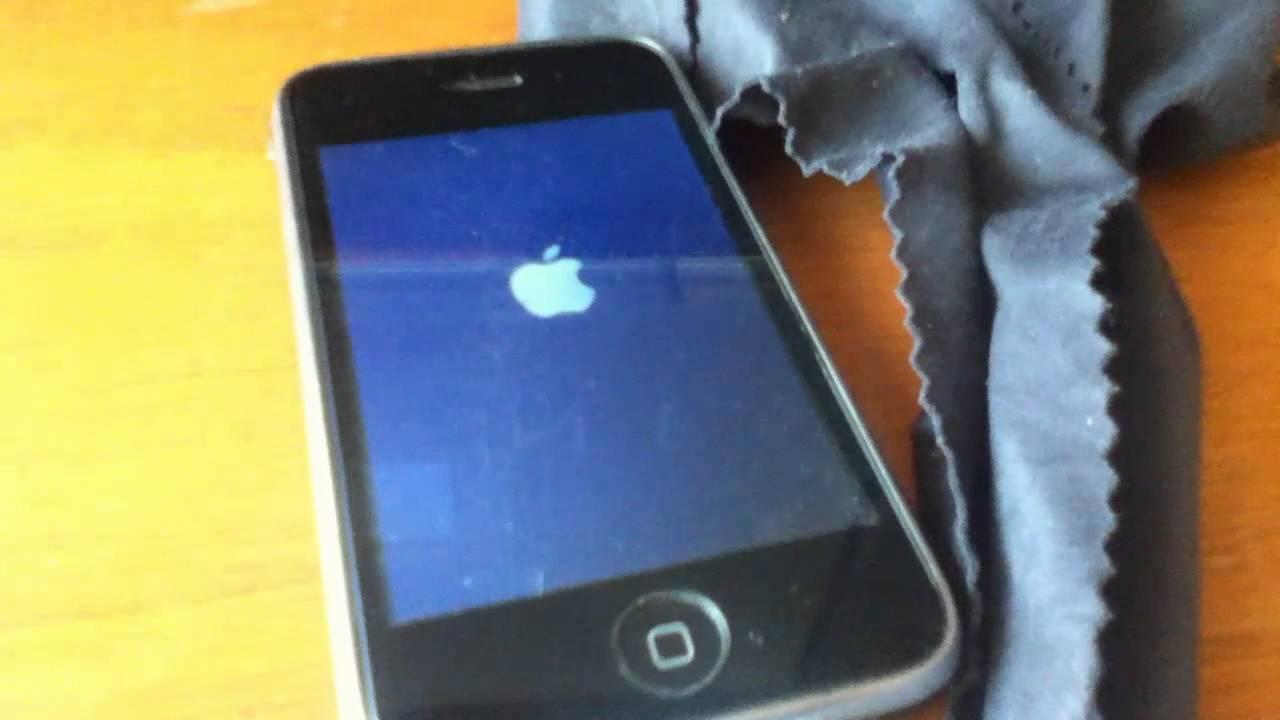 [Ayuda] Iphone 3GS Atascado En La Manzana