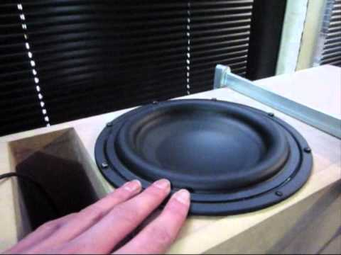 transmission line subwoofer built part 3 test youtube. Black Bedroom Furniture Sets. Home Design Ideas