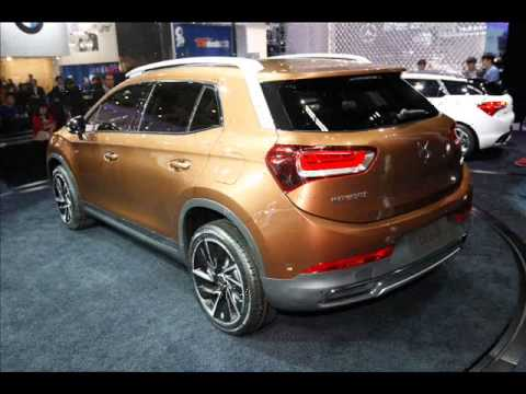 All New 2015 Citroen Ds 6wr 2014 Beijing Motor Show