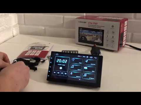 Incar XTA-7707 | Обзор универсальной магнитолы