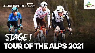 Tour of the Alps - Stage 1 Highlights | Cycling | Eurosport