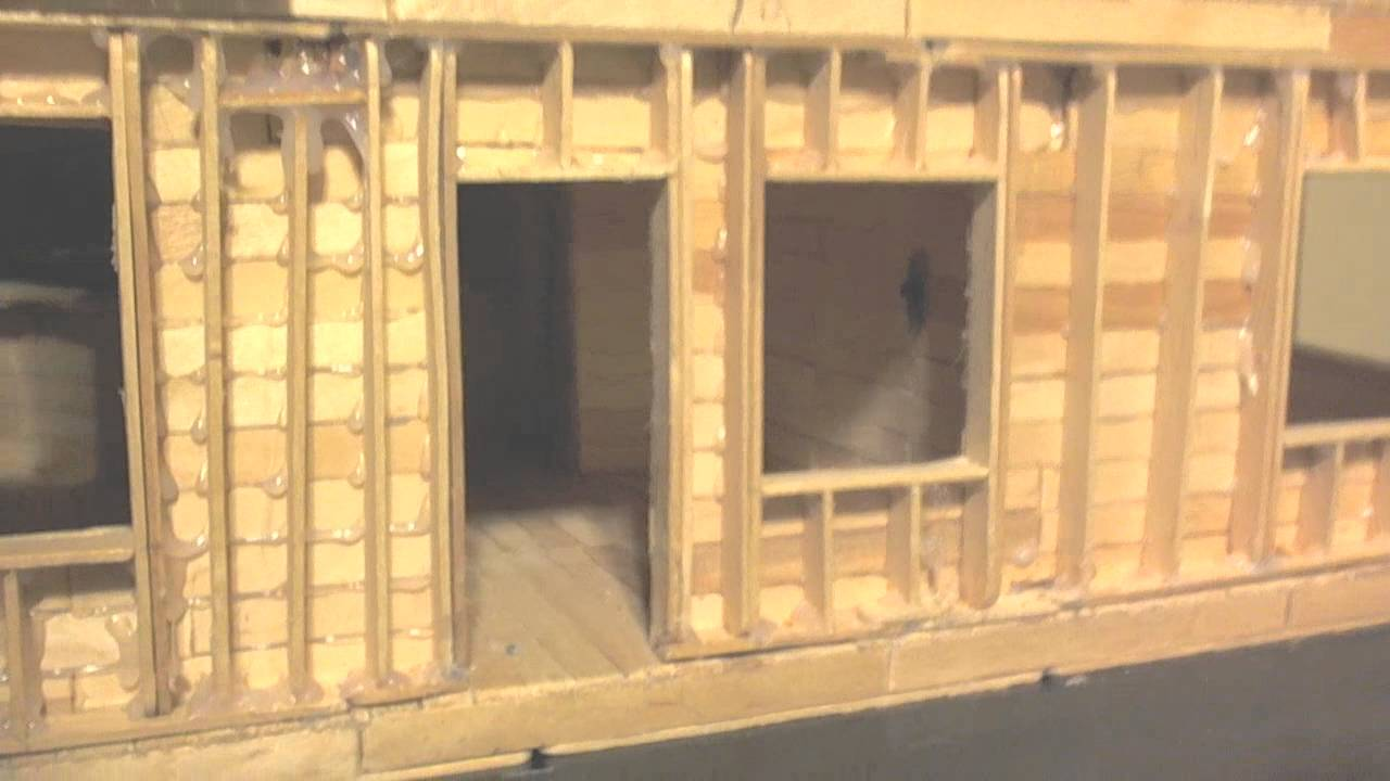 24 Building Popsicle Stick House Youtube