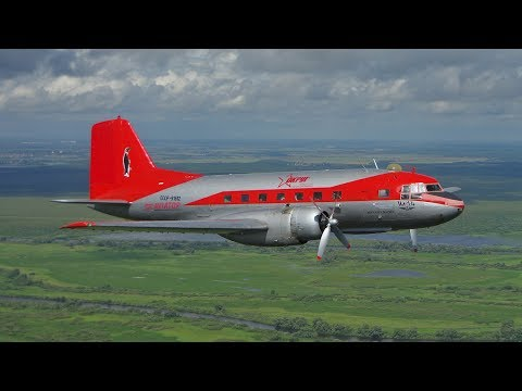 Mission ILYUSHIN IL-14 (1957 Made - Air To Air And From Cockpit)