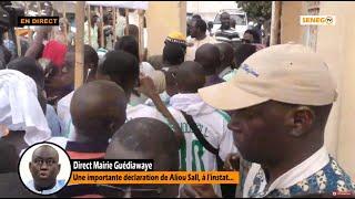 🔴Direct Mairie Guédiawaye : Une importante déclaration de Aliou Sall, à l'instant