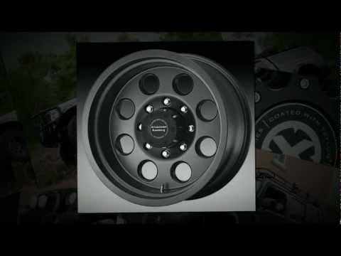 American Racing ATX Wheels Mojave Teflon Black