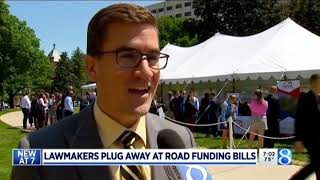 Sen. Outman discusses road funding proposals on WOOD TV