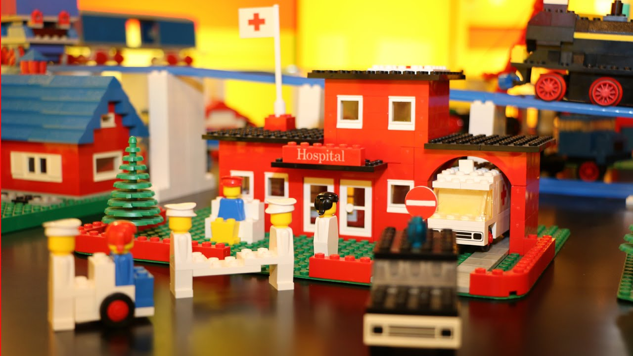 Lego idea house lego of the 60s 70s and 80s city for Classic house 80s