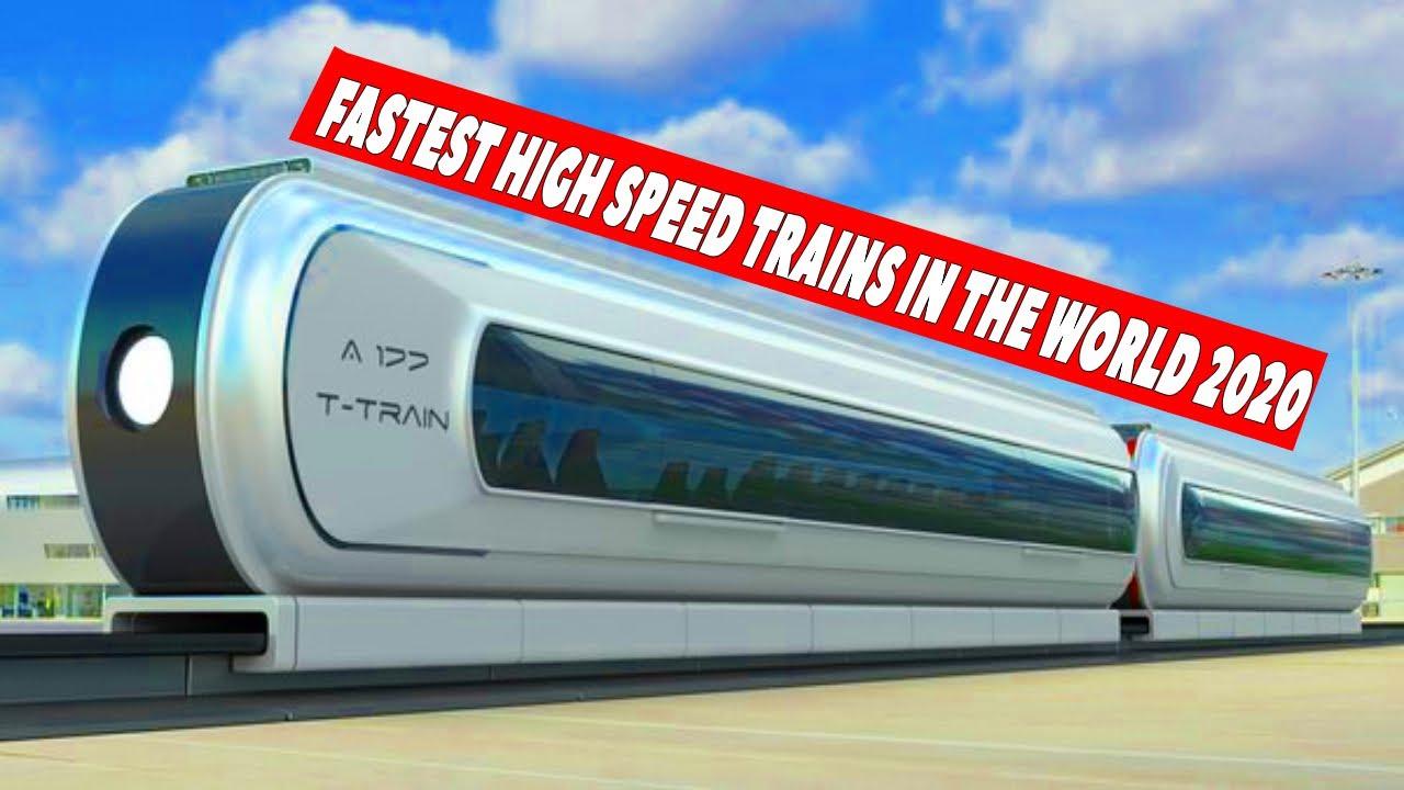 World's 10 Fastest high-speed Trains // दुनिया की 10 सबसे तेज रेलगाड़िया