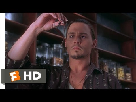 Chocolat (10/12) Movie CLIP - Roux's Worm Trick (2000) HD