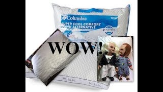 columbia cooling pillow reviews best