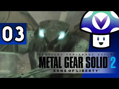 [Vinesauce] Vinny - Metal Gear Solid 2: Sons of Liberty (part 3) + Art!