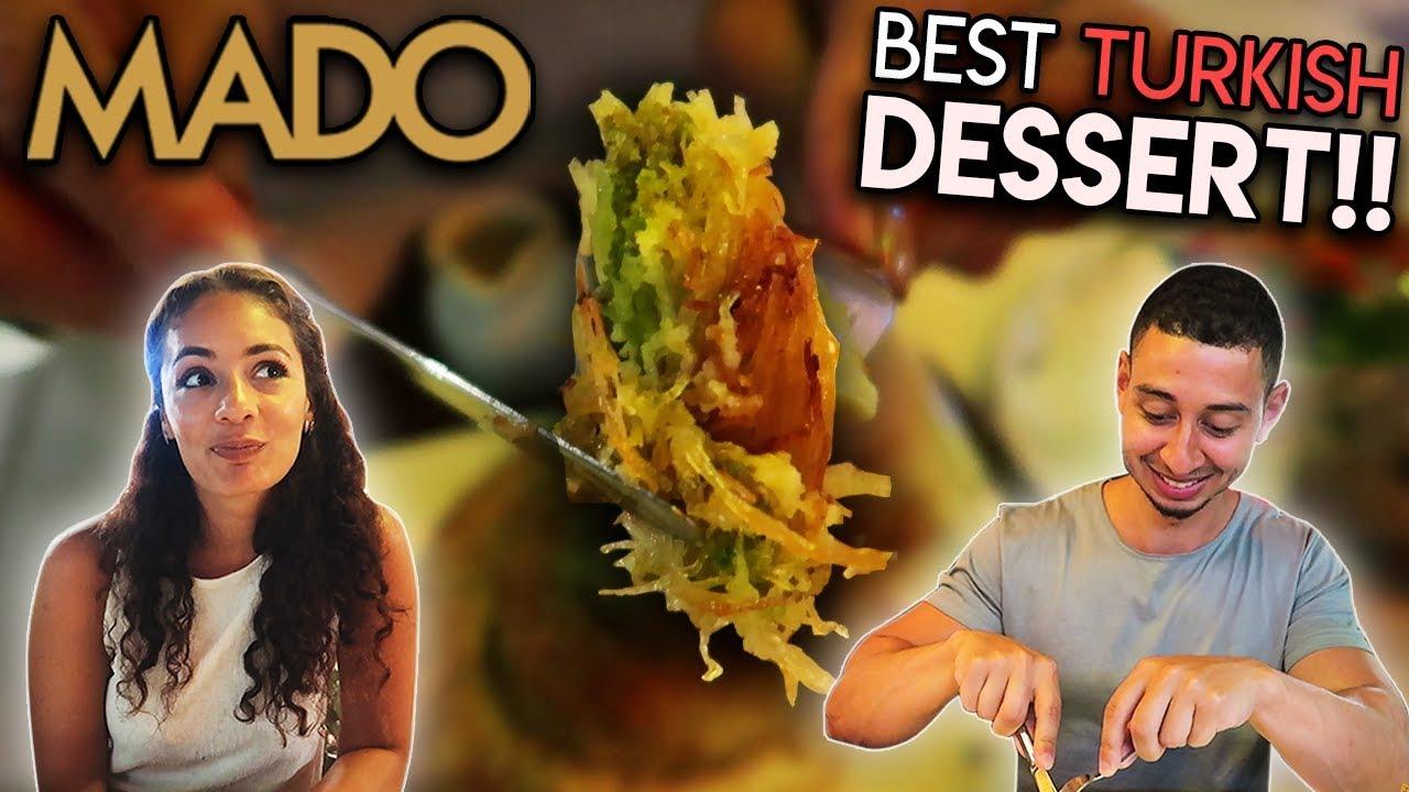 BEST TURKISH DESSERT!! MADO in Turkey Taste Test | Jay & Rengin