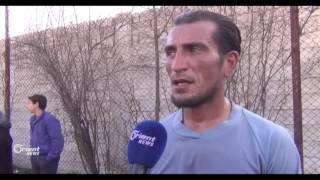 أهالي الغوطة الشرقية يستغلون وقف القصف بإقامة دوري لكرة القدم