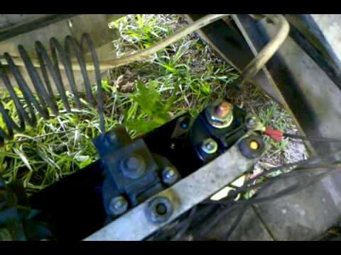 club car golf cart wiring diagram 3 way switch power at solenoid problem just clicking still 1987 youtube