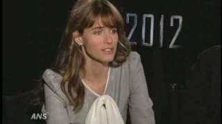 JOHN CUSACK & AMANDA PEET 2012 INTERVIEW