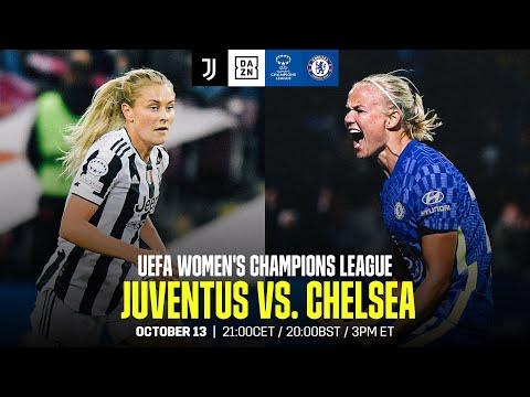 Juventus vs. Chelsea   UEFA Women's Champions League Matchday 2 Full Match