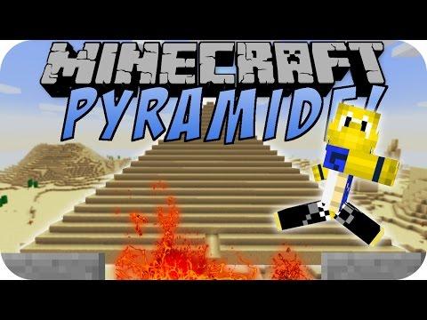 Minecraft PYRAMIDE (MASSIVE STRUCTURES MOD) [Deutsch]