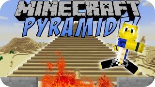 Minecraft PYRAMIDE (MASSIVE STRUCTURES MOD) [Deutsch]
