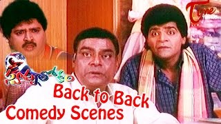 Swapna Lokam  Movie Comedy Scenes | Back to Back |  Jagapati Babu | Rasi