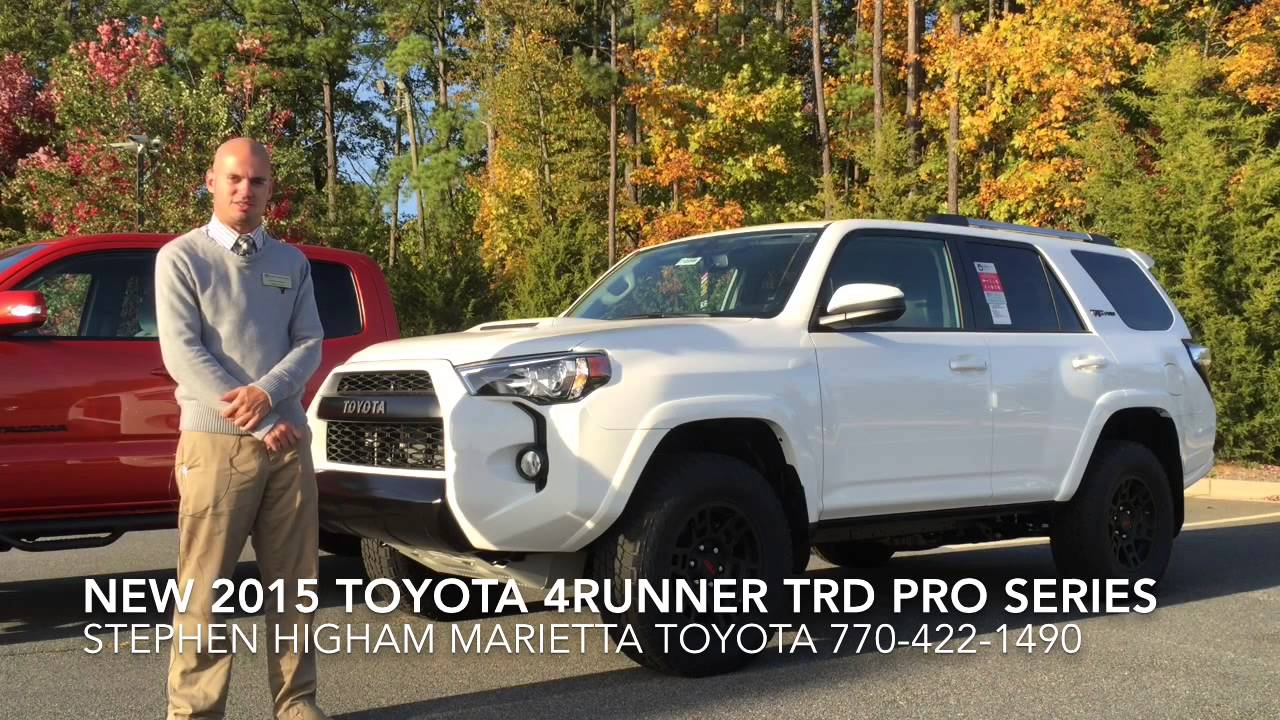 New 2015 Trd Pro Series Tundra 4runner And Tacoma Youtube