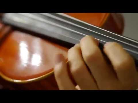 "Sword Art Online II OP ""Courage"" Full ソードアート・オンラインOP (Violin Cover)"