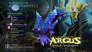 Achievement-Ahead of the Curve Argus the Unmaker + Violet Spellwing Mount
