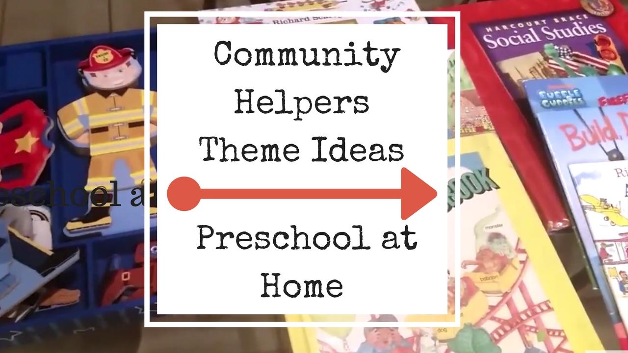 Community Helpers Theme Ideas | Preschool at Home | Free ...