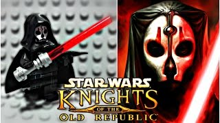 LEGO Star Wars Knights Of The Old Republic - Darth Nihilus Minifigure Review