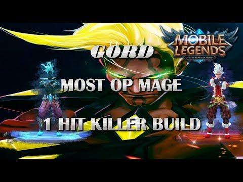 Mobile Legends Best Build For Gord / Crazy Damage