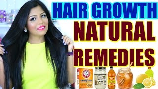 Hair Growth Remedies For Long Shiny Hair | SuperPrincessjo
