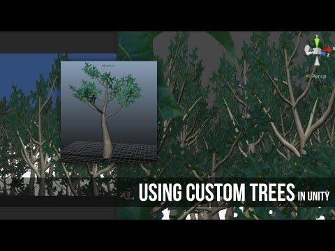 Using Custom Trees in Unity