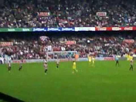 Gol Javi Martinez Athletic  VS Villareal  20-09-09