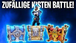 ZUFÄLLIGE KISTEN BATTLE! 🏆📦 | Fortnite: Battle Royale