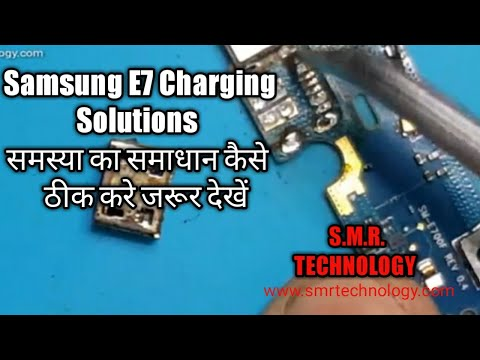 Samsung Galaxy E7 Charging Port Replacement