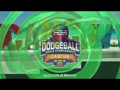 DAY 1:  GAME MEXICO - ARGENTINA WOMENS WORLD CHAMPIONSHIP DODGEBALL CANCUN 2019