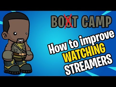 Bot Camp: HOW to Watch Fortnite Streamers to Improve | XBOX | PS4 | Controller