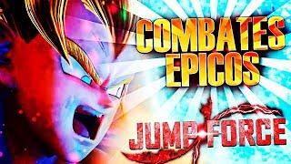 ¡JUGANDO COMBATES ÉPICOS con GOKU en Jump Force!