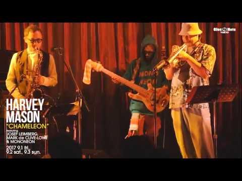 MONONEON with HARVEY MASON 'CHAMELEON' at BLUE NOTE TOKYO 2017