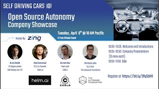 Self Driving Cars 101 - Open Source Autonomy