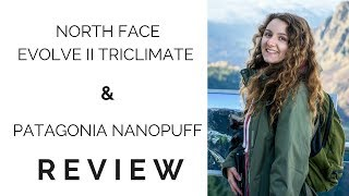 Patagonia Nano Puff & North Face Triclimate Jacket Review | Minimalist In Winter