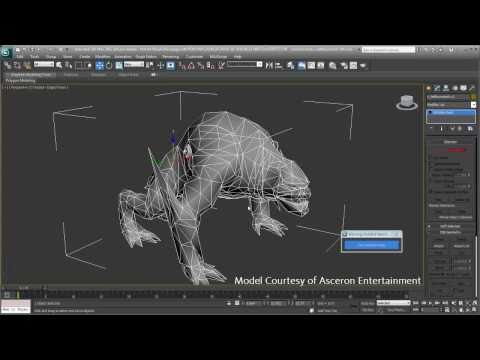 3ds Max/3ds Max Design 2012 New Feature - Graphite Modeling