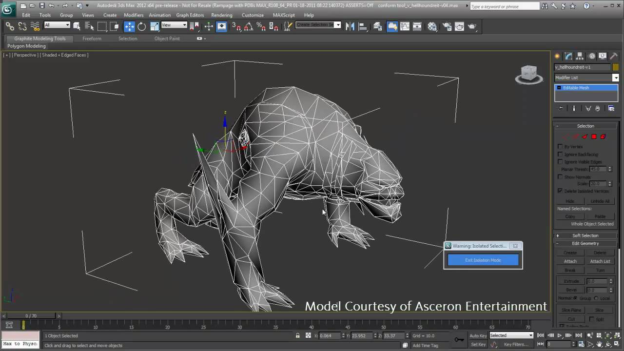 3ds Max/3ds Max Design 2012 New Feature - Graphite Modeling - YouTube
