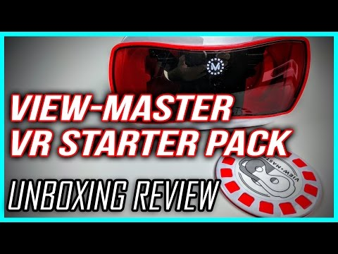 View-Master Virtual Reality Starter Pack Unboxing Review & Setup