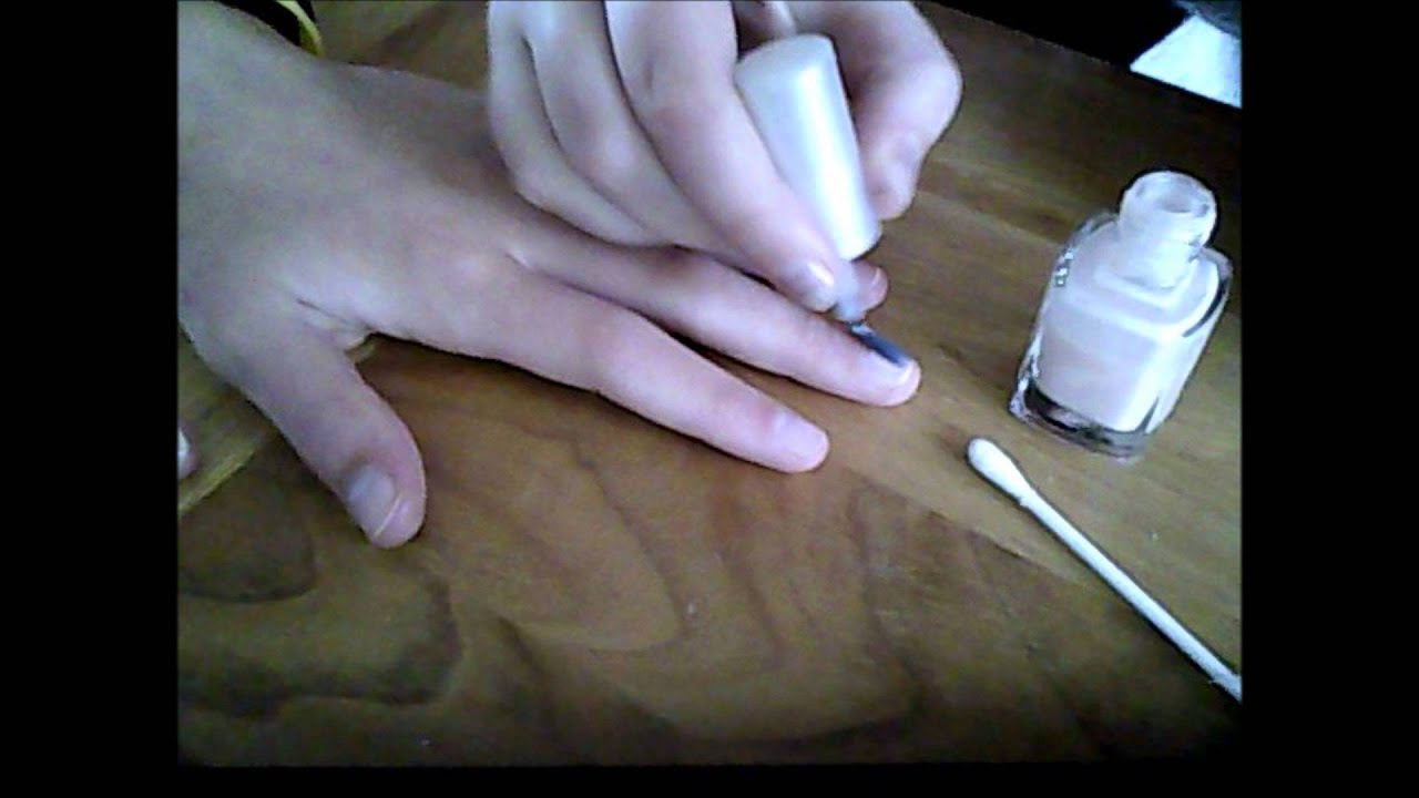 How To: Newspaper Nail Art Tutorial (Using Rubbing Alcohol). - YouTube