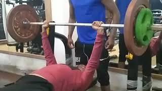 Easy 85kg Benchpress At 63kg Bodyweight