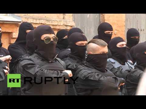 Ukraine: Azov battalion prepare for Mariupol deployment