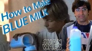 How to Make BLUE MILK (Shan Wars / Star Wars Trailer)
