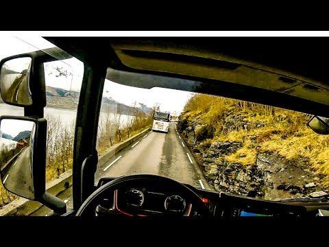 POV Driving Scania S520 - Odda - Ålvik Rv13 (Part 1/3)