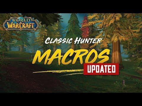 Classic Hunter Macros - Updated