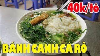 Đặc sản Bánh Canh Cá Rô 102 Mạc Thái Tổ món ngon Hà Nội giá chỉ 30K